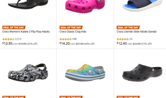 Cyber Monday Deal | Up to 77% Off Crocs for the Whole Family!