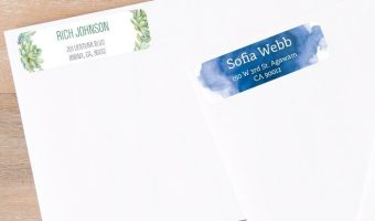 140 Free Address Labels – Pay Just $5.99 Shipping