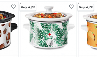 Cooks 1.5-Qt. Slow Cookers ONLY $5!