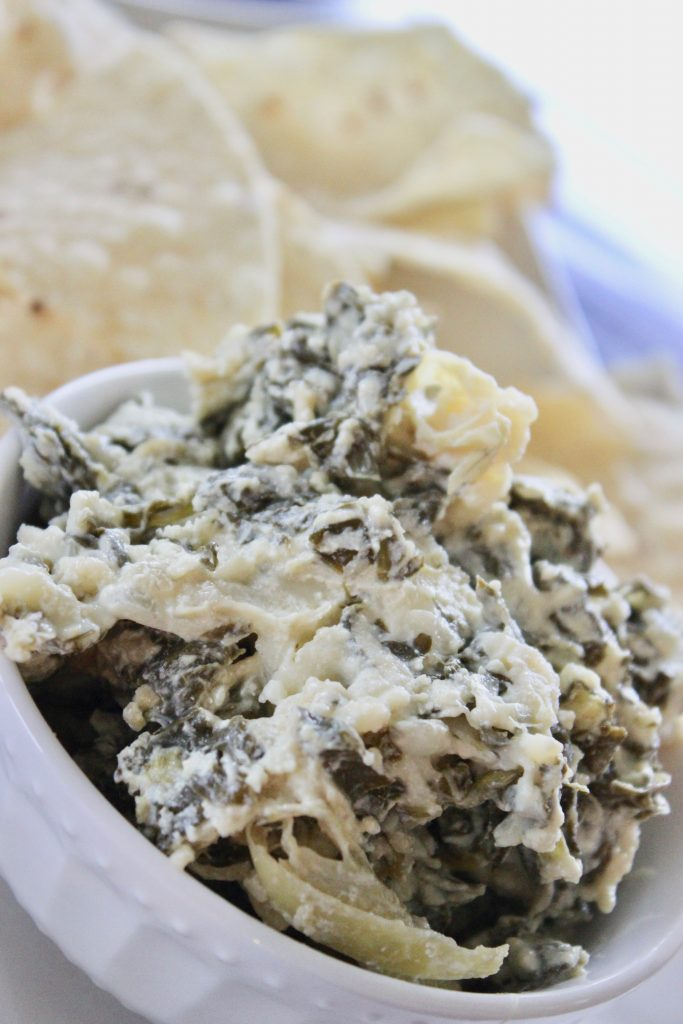 spinach and artichoke dip crock pot