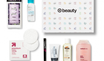 skincare samples from Target
