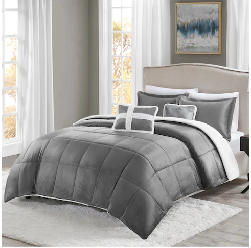 True North 5 Pc Sherpa Comforter Sets As Low As 35 13 Shipped