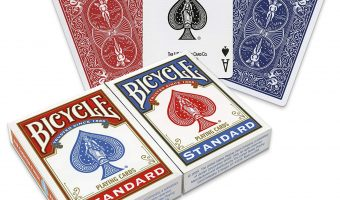 2-Pack Bicycle Poker Size Standard Playing Cards $3.99