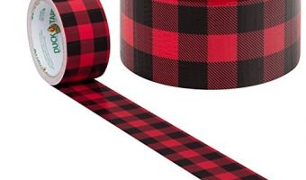 Duck Brand Buffalo Plaid Printed Duct Tape $3.48 (reg $8.88)
