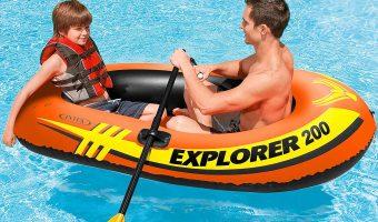 Intex Explorer 200, 2-Person Inflatable Boat $9.99 (reg $17.28)