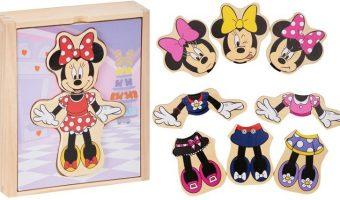 Melissa & Doug Wooden Minnie Mouse Mix and Match Dress-Up $3.99 (reg. $5.95)