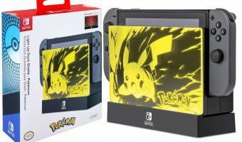 PDP Nintendo Switch Pokemon Light Up Dock Shield $14.99 (reg. $19.99)