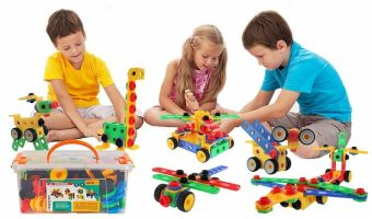 STEM Learning 101-Piece Educational Building Blocks Set $32.39 (reg. $39.99)