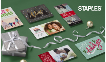 Staples Christmas Cards as Low as $0.23 Each!