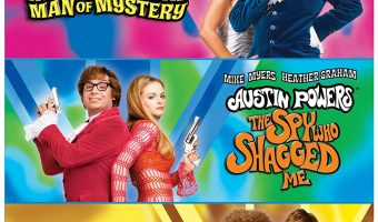 Austin Powers Triple Feature on BluRay $10 (reg. $19.98)