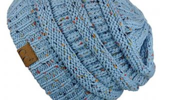 Chunky Soft Stretch Cable Knit Beanie $8.59 (reg. $10.95)
