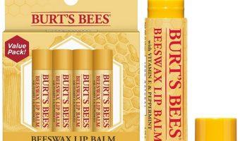 4-pack Burt's Bees 100% Natural Moisturizing Lip Balm $6.05