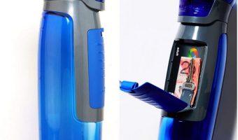 Contigo AUTOSEAL 24 oz Water Bottle with Storage Compartment $8 (reg. $12.99)