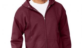 Great Low Price On Hanes Men's Full-Zip EcoSmart Fleece Hoodie