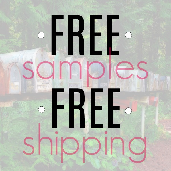 Free Samples with Free Shipping