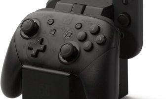 Joy-Con & Pro Controller Charging Dock for Nintendo Switch $14.99 (reg. $29.99)