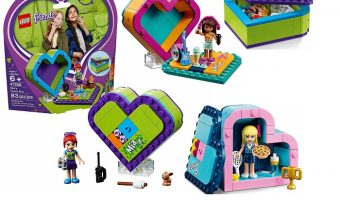 Best Price On LEGO Friends Heart Box Building Kits