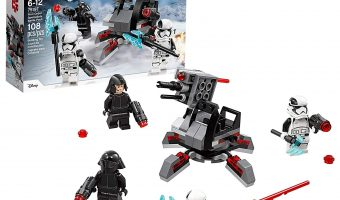 Nice Deal on LEGO Last Jedi First Order Battle Pack