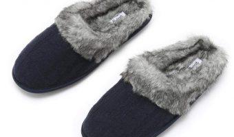 Best Price On Pembrook Ladies Faux Fur Memory Foam Slippers