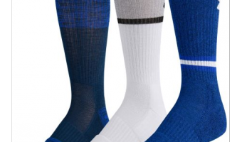 Save Big On Under Armour Phenom Twist Crew Socks (3-pack)