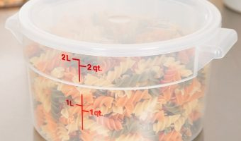 Low Price On 3-pack  2-Quart Round Food Storage Container with Lid