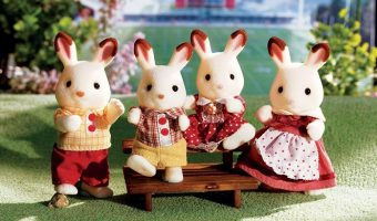 Nice Deal on Calico Critters Hopscotch Rabbit Family