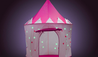 Princess Castle Play Tent with Glow in The Dark Stars Less Than $15!