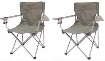 Ozark Trail Quad Folding Camp Chairs Just $6.50 Each!