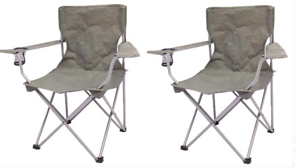 Ozark Trail Quad Folding Camp Chairs Just $6.50 Each!