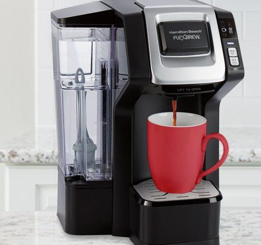 Save Big On Hamilton Beach FlexBrew Single-Serve Coffee Maker