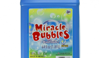 64-Ounce Miracle Bubbles Bottle Less Than $4!