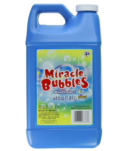 64 Ounce Miracle Bubbles Bottle Less Than 4