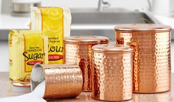 Great Deal on Old Dutch Copper Canister Set