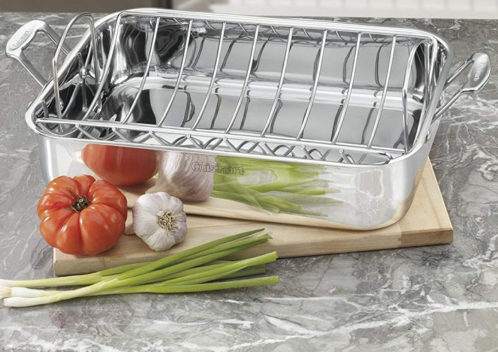Nice Deal on Cuisinart Stainless 16-Inch Roaster with Rack