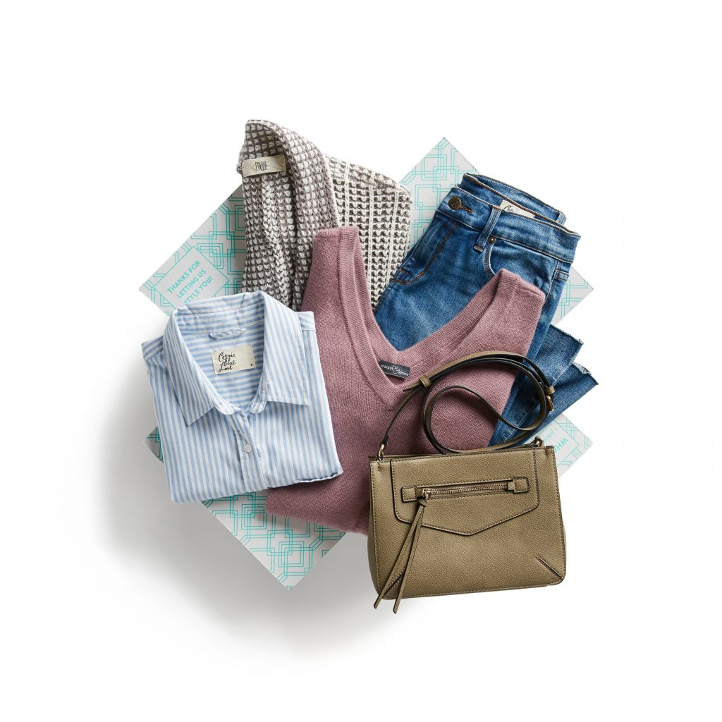 Picture of a Stitch Fix Maternity box.