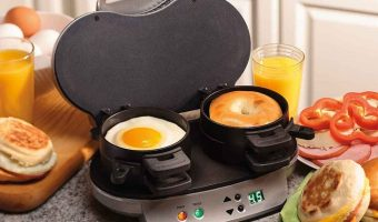 Save on Hamilton Beach Dual Breakfast Sandwich Maker Today Only