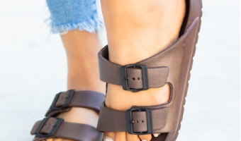 Lightweight Double Buckle Sandals | 6+ Colors Just $12.99