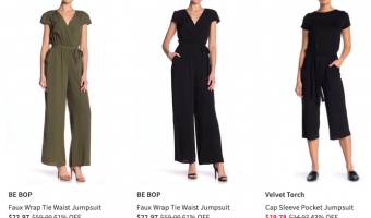 Nordstrom Rack: Jumpsuits and Rompers Starting at $4.99!
