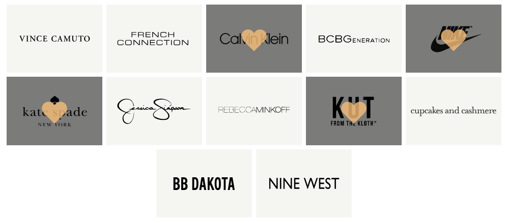 The brands that Le Tote gives clothes from