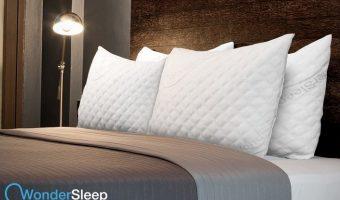 Amazon Deal of the Day: WonderSleep Shredded Memory Foam Pillow