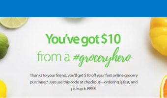 Walmart grocery free pickup referral code