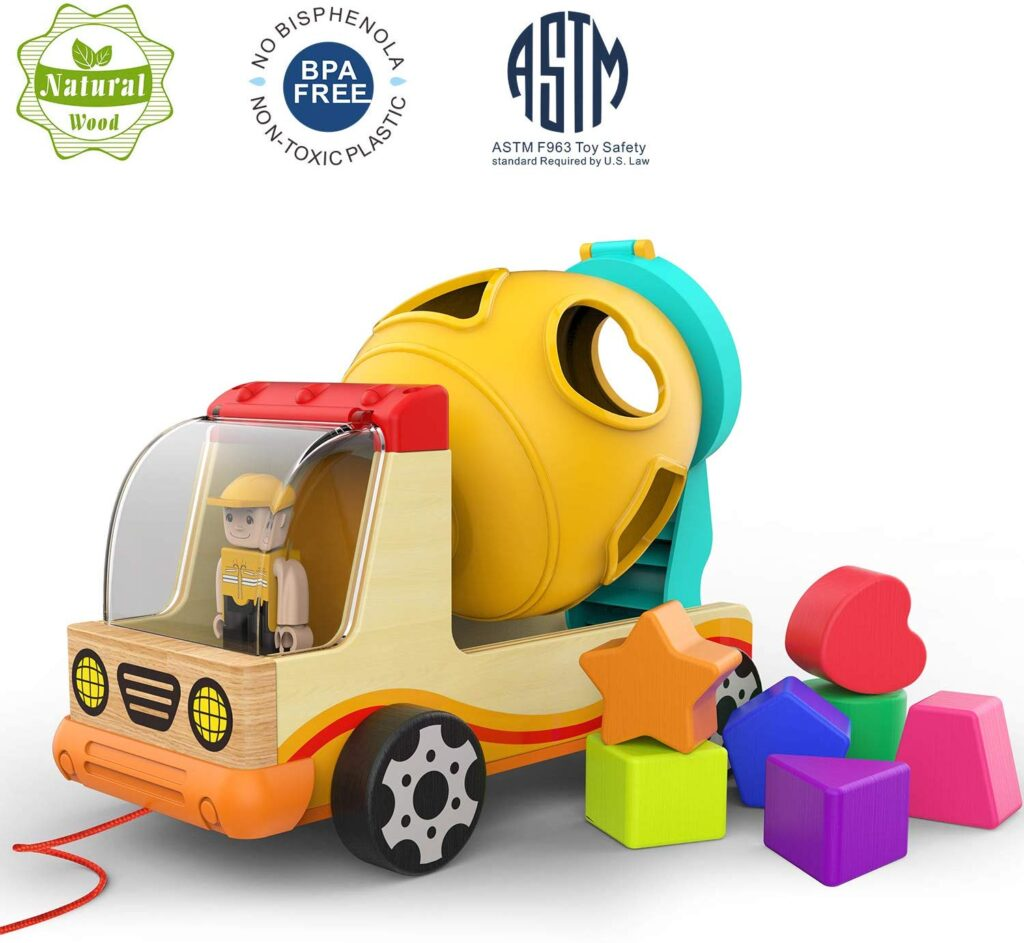 Best toys for 2 years old Boy Shape Sorter Vehicle