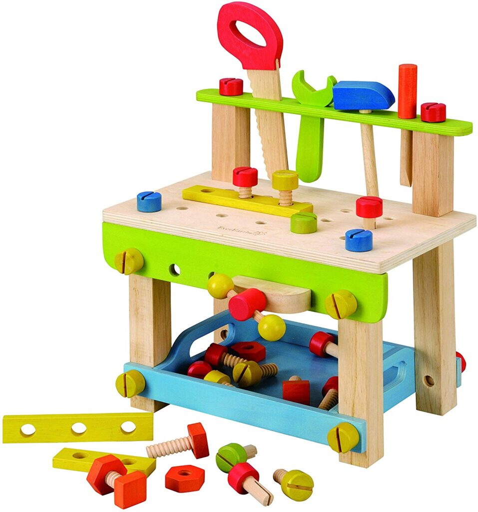 best toys for 2 year old boys work bench