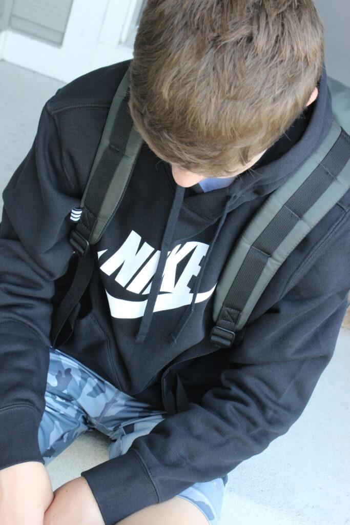 Nike sweatshirt for back to school