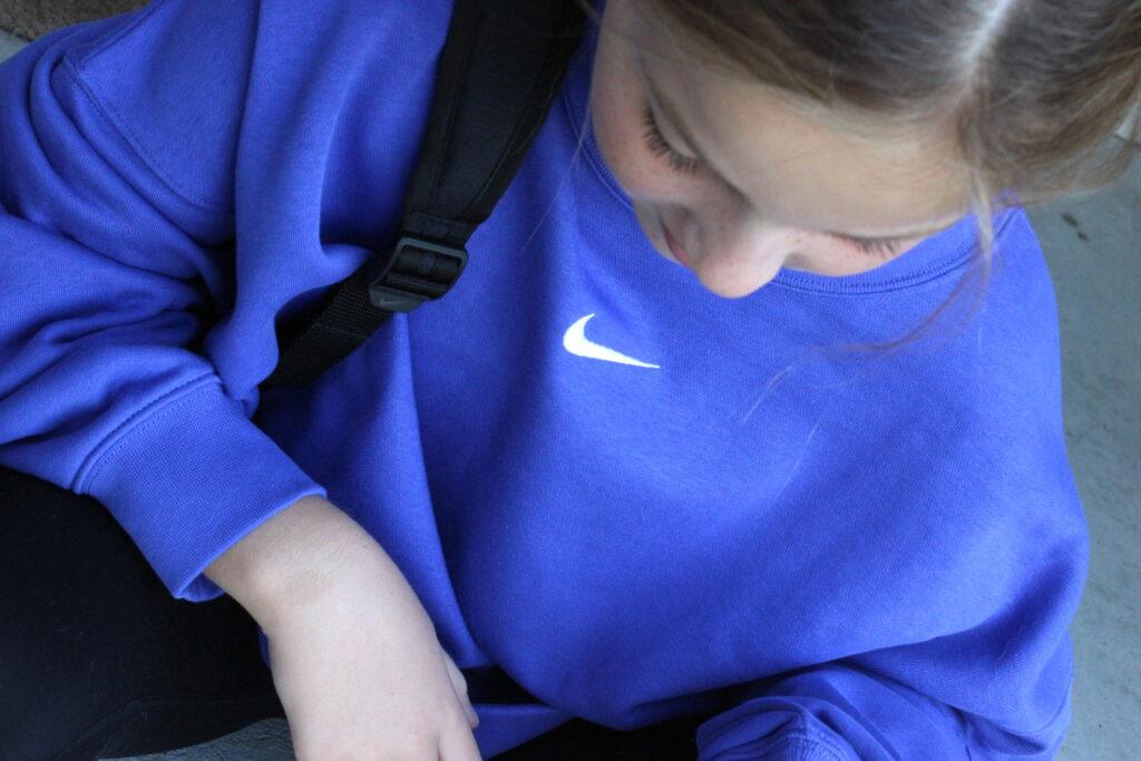 soft Nike sweatshirt for girls